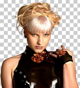 Hair Coloring Layered Hair Woman PNG