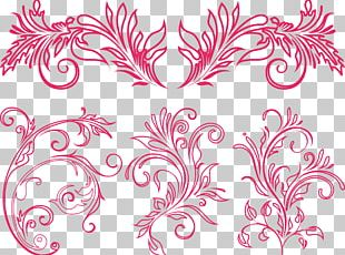 Ornament Flower Floral Design PNG