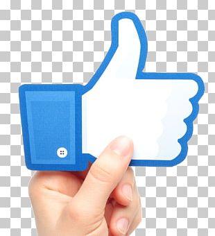 Social Media Facebook Like Button Blog PNG