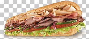 BLT Submarine Sandwich Subway Pulled Pork PNG