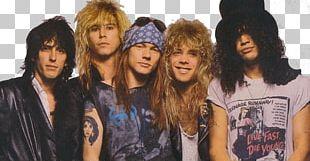 Guns N' Roses Group PNG