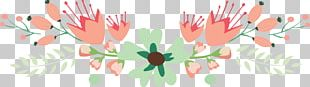 Flower Floral Design Page Footer Header PNG