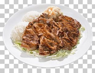 Cuisine Of Hawaii Barbecue Grill Barbecue Chicken Macaroni Salad Dish PNG