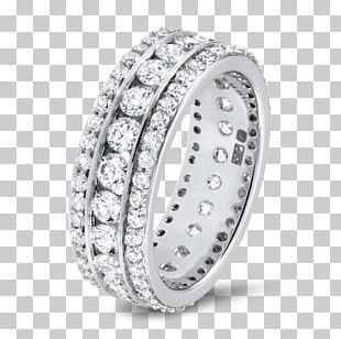 Eternity Ring Diamond Brilliant Carat PNG