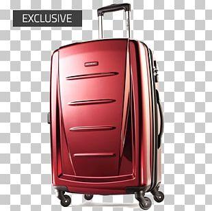 Hand Luggage Samsonite Baggage Spinner Suitcase PNG