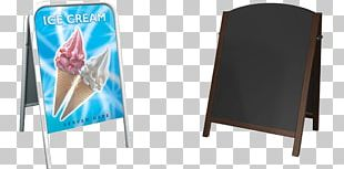 Sandwich Board Out-of-home Advertising Printing Poster PNG