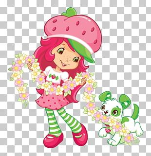 Strawberry Shortcake Cupcake Birthday Cake PNG