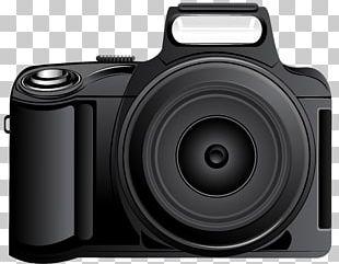 Digital SLR Photographic Film Camera PNG