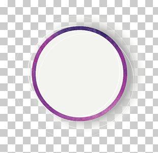 Circle Purple Font PNG