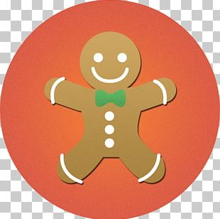 Christmas Cake Biscuits Gingerbread Man Christmas Cookie PNG