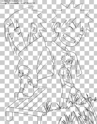 Line Art Red John Sasuke Uchiha Drawing Naruto PNG