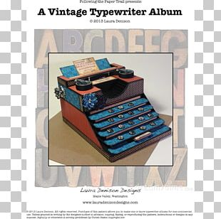 Paper Model Typewriter Office Supplies PNG
