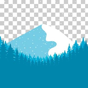 Snow Euclidean Forest PNG
