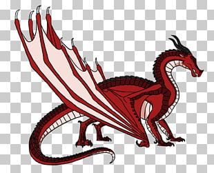 Wings Of Fire Escaping Peril Dragon Drawing PNG
