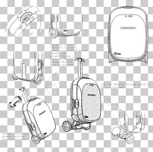 Suitcase Baggage Travel Backpack Trolley Case PNG