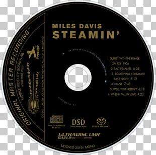 Compact Disc Steamin' With The Miles Davis Quintet Mobile Fidelity Sound Lab Super Audio CD PNG