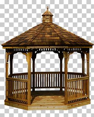 Gazebo Pergola Garden Buildings Roof Deck PNG
