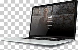 Netbook HBO España Landing Page PNG