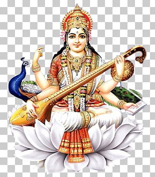 Shiva Saraswati Vandana Mantra Basant Panchami Hinduism PNG