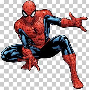 Spider-Man Drawing Venom Captain America Deadpool PNG