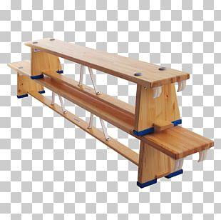 Bench Table Gymnastics Balance Beam Garden Furniture PNG