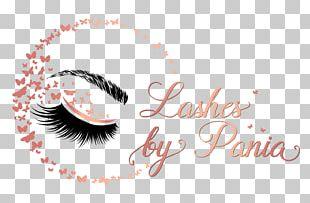 Eyelash Extensions Logo Cosmetics PNG