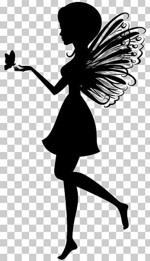 Fairy Silhouette PNG