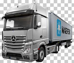 Mercedes-Benz Actros Car Pickup Truck PNG