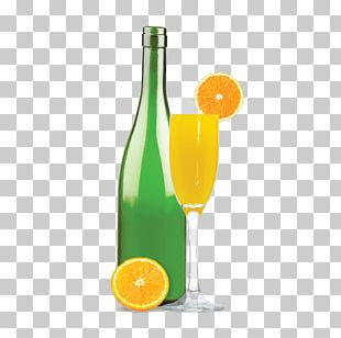 Mimosa Champagne Cocktail Orange Juice PNG