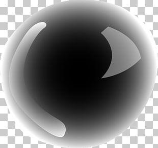 Black Circle Light PNG