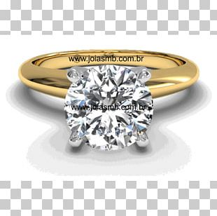 Diamond Engagement Ring Jewellery Wedding Ring PNG