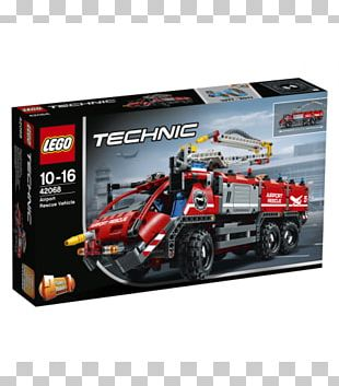 Lego Technic Toy LEGO 42068 Technic Airport Rescue Vehicle LEGO Certified Store (Bricks World) PNG