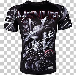 Venum Rash Guard Mixed Martial Arts Clothing Brazilian Jiu-jitsu PNG