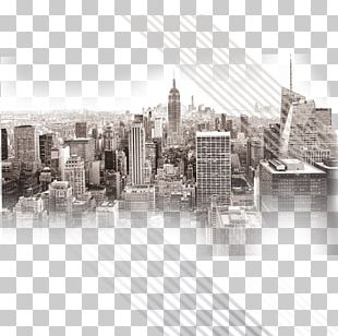 Empire State Building Manhattan Skyline PNG