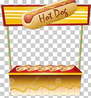 Hot Dog Stand Hot Dog Cart Fast Food PNG