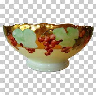 Limoges Porcelain Ceramic Bowl PNG