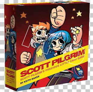 Scott Pilgrim Set Oni Star Realms Game PNG