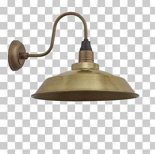 Light Fixture Sconce Lamp Shades Brass PNG