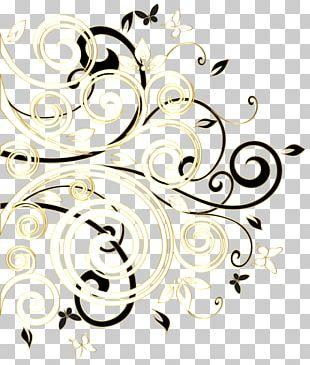 Black And White Decorative Borders Decorative Arts Portable Network Graphics PNG