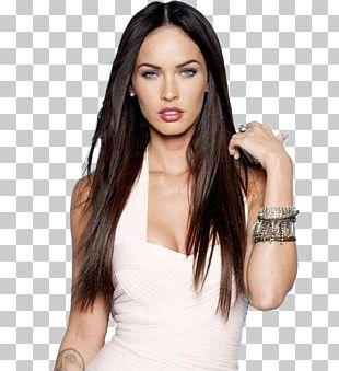 Megan Fox Transformers Hairstyle Desktop PNG
