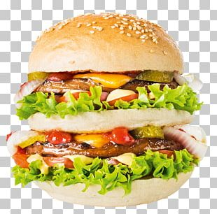Cheeseburger Hamburger Whopper Fast Food Buffalo Burger PNG