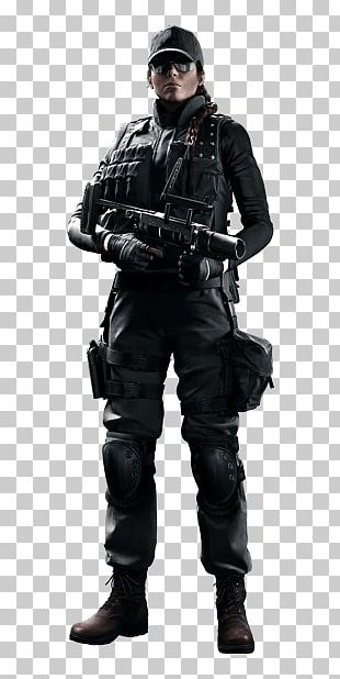 Swat Woman Officer PNG