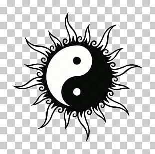 Tattoo Yin And Yang Henna Drawing PNG