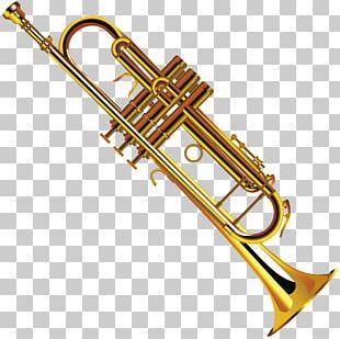 Trumpet Musical Instruments Trombone PNG