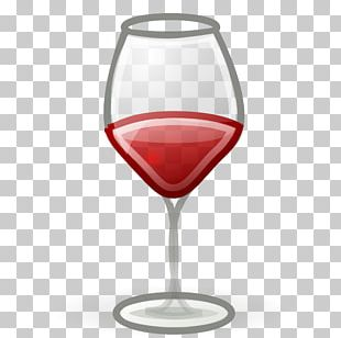 Red Wine Champagne Wine Glass Bottle PNG