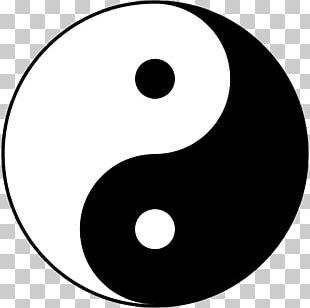 Yin And Yang Symbol Taoism Taijitu Femininity PNG