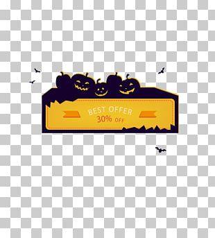 Halloween Web Banner Gratis PNG