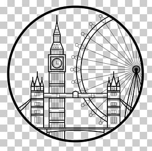 London Eye Drawing Computer Icons Photographer PNG