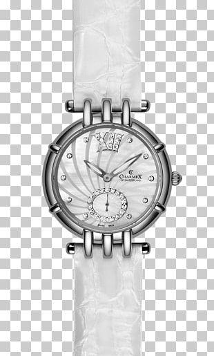 Watch Strap Montres Charmex SA Quartz Clock Swiss Made PNG