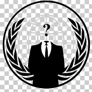 Anonymous Logo Security Hacker Graphics PNG